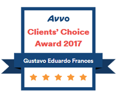 Avvo Clients' Choice Award 2017