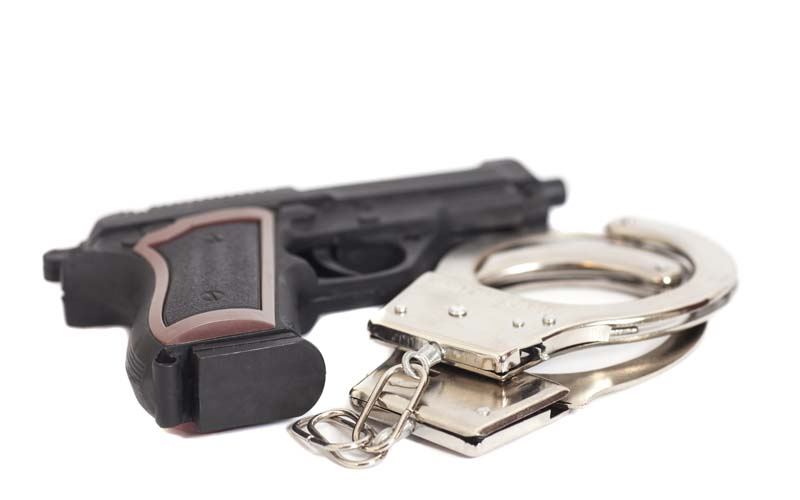 Recent robbery turns up charge of felony possession of firearm